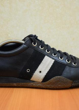 Спортивные туфли bally. кожа.  размер 38