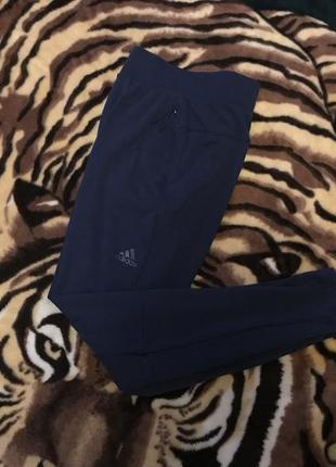 Крутые спортивные штаны (спортивки, треники, лосины) от adidas zne