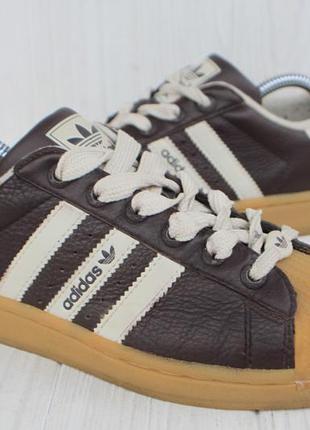 Кроссовки adidas superstar кожа оригинал 37,5р кеды