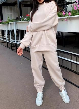 Спортивный костюм утеплённый