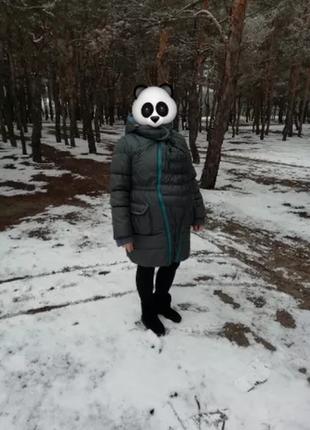 Куртка слингокуртка зимняя для беременной 3 в 1