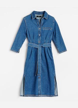 Хит 2020 ! платье  джинсовое  reserved