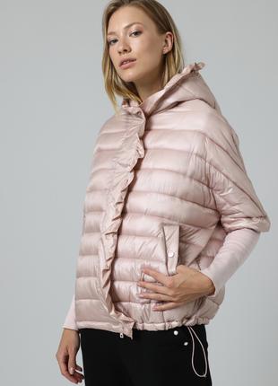 Новая куртка twin-set первая линия трансформер жилет пуховик ultralight пудра