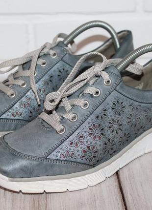 Комфортные кроссовки rieker 41 размер