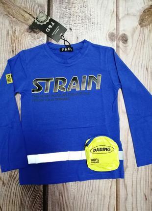 Яркий реглан, футболка со светоотражателем и накладным карманом