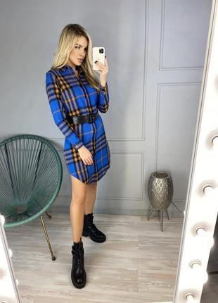 Платье-рубашка женская