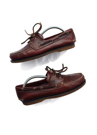 Timberland top sider shoes, шкіряні топ сайдери