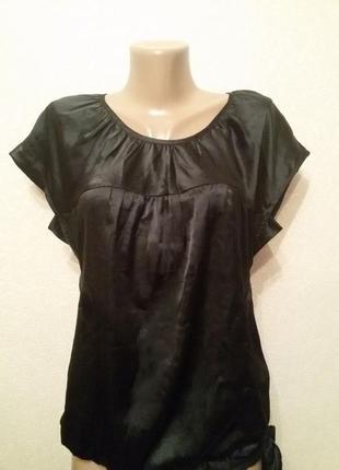 Черная блуза lime