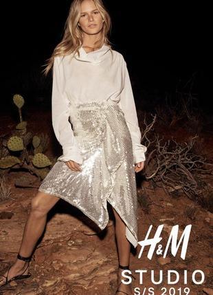 Ультра модная  блуза h&m studio