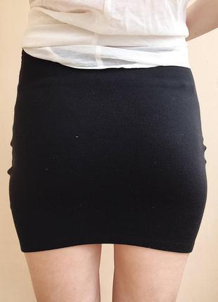 Мини-юбка stradivarius