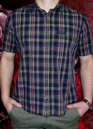 Bestprod рубашка мужская jack wolfskin  качество и цена 🔥
