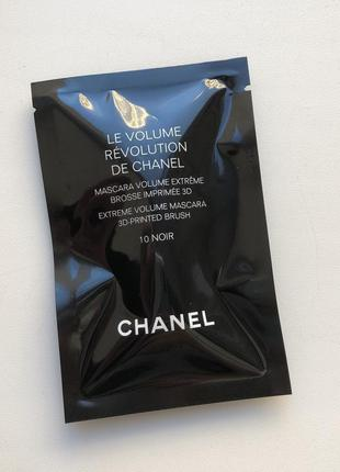 Пробник туши для ресниц chanel le volume revolution de chanel 3d-printed brush