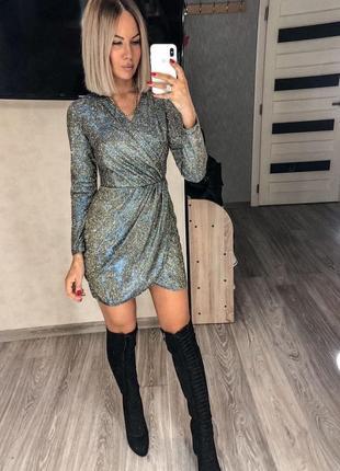 Платье диско