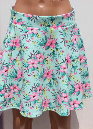 Красивая летняя юбка h&m