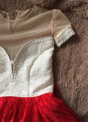 Гипюровое платье на выпускной или на любое другое мероприятие