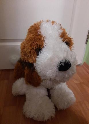 Мягкая игрушка большой собачка огромный пес собока