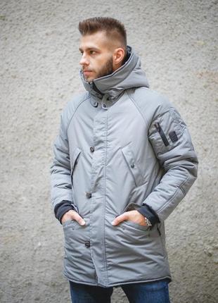 Зимняя куртка onoma grey