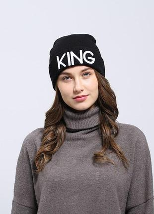3 мега-крута стильна модна шапка king