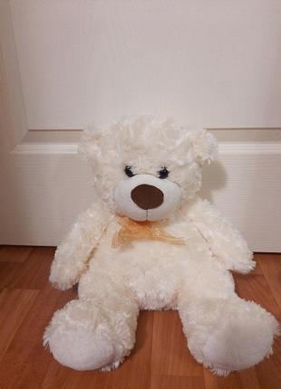Мягкая игрушка большой мишка  белый медведь