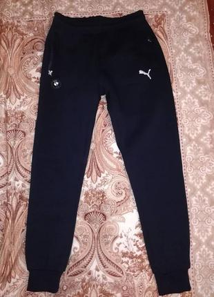 Супертёплые спортивные брюки на флисе puma турция.