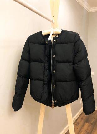 Зимова коротка куртка дута куртка