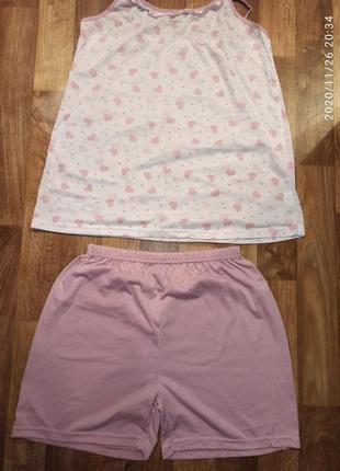 Комплект пижама р.46