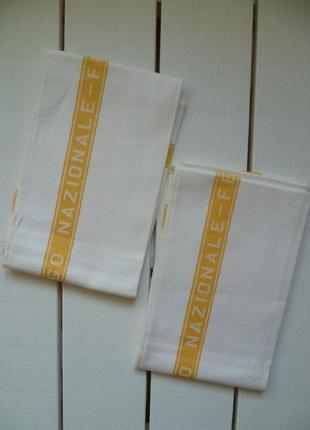Льняное полотенце, кухонний рушник, полотенце кухонное 42х65 италия