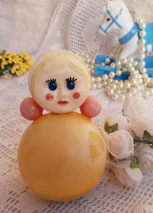 Неваляшка кукла ванька-встанька ссср советская карболит котовского завода