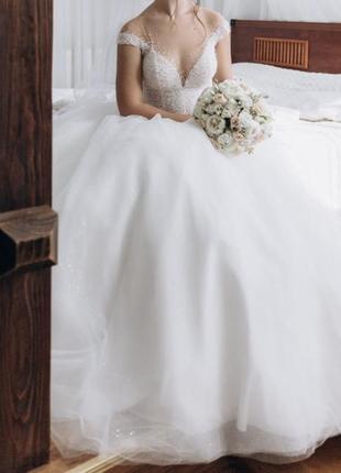Весільна сукня milla nova2 фото