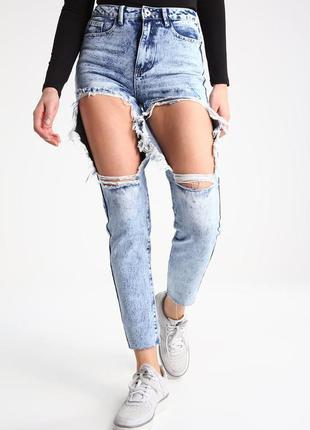 Трендові рвані джинси від asos