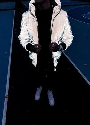 Зимняя курточка рефлектив