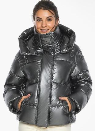 Короткий пуховик, зимняя куртка, воздуховик женский