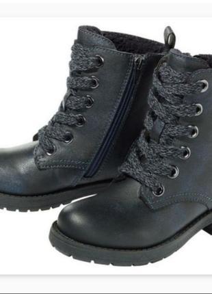Новие ботинки для девочки р. 31 , сапожки   сапоги , розпродаж,  акция