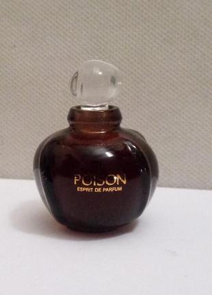 Dior poison 5 мл esprit de parfum