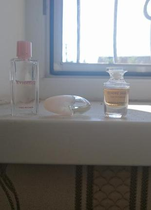 Набір парфумів мініатюр yves rocher