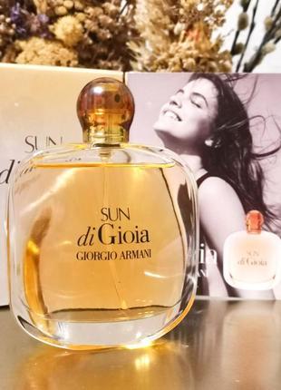 Оригинал 🔺100 ml giorgio armani sun di gioia edp🔺 парфюм, духи