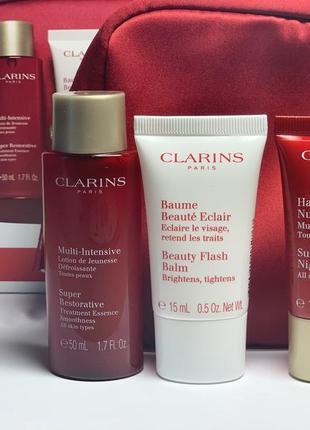 Набор уход за кожей clarins super restorative