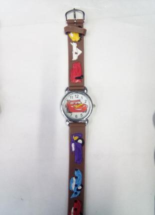 Детские часы тачки