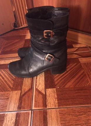 Чоботи черевики зимові натуральна шкіра
