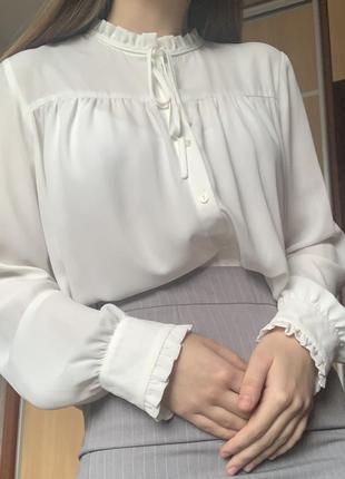 Блуза, рубашка, белая блуза, кофта
