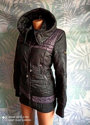 Зимняя теплая курточка с капюшоном, куртка, парка, пуховик