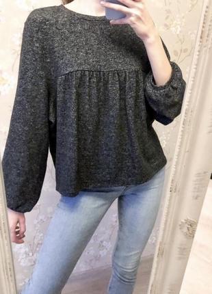 Тёплая кофта свитер zara