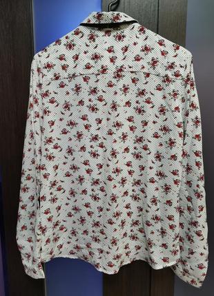 Блуза с лентой галстуком