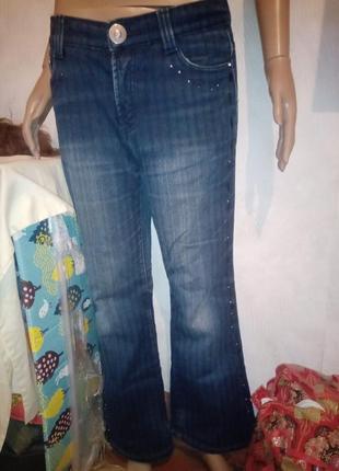 Тёплые джинсы зима