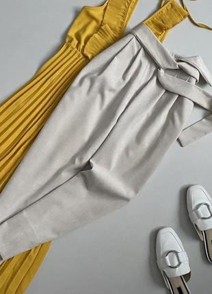 Идеальные брюки с поясом