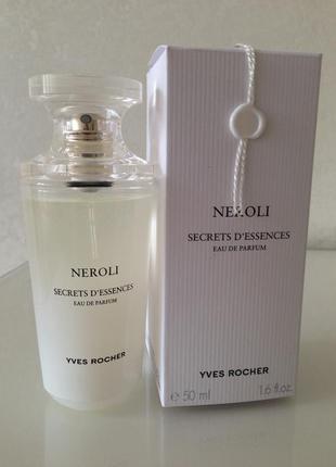 Парфюмированная вода neroli yves rosher , 50 ml