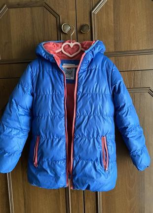 Курточка на дівчинку осінь-зима