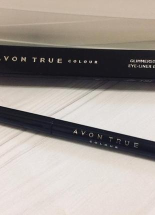 Avon true colour карандаш для глаз blackest black