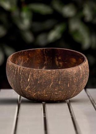 Большая кокосовая чаша natural hi cocobowl миска тарелка боул