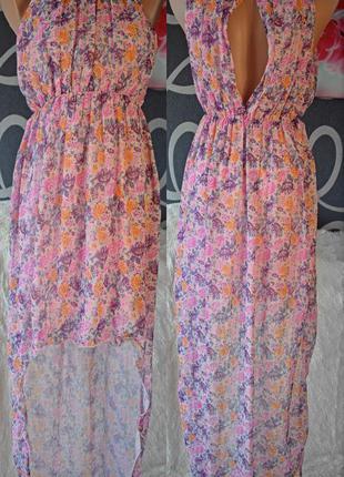 Платье со шлейфом бренда eva e lola